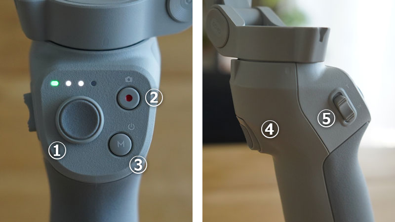 DIJ OM 4 ボタンの解説