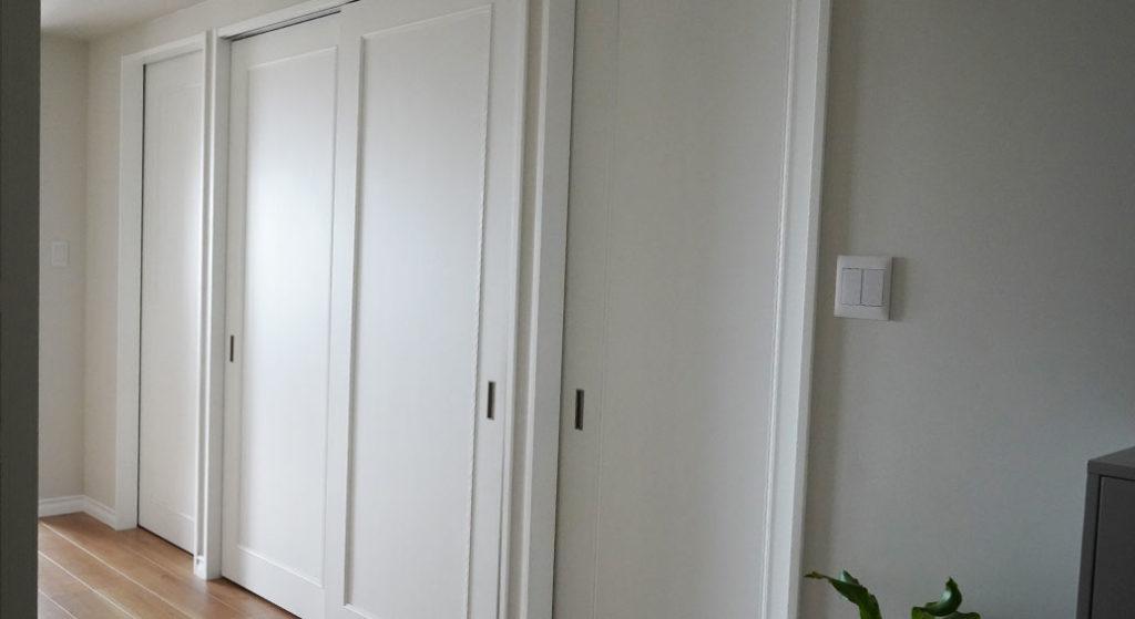 廊下に面したクローゼット